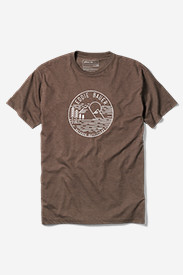 Men's Graphic T-Shirt - Foggy Mountain View