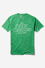 Polyester T-Shirts for Men: Men's Graphic T-Shirt - Great Outdoor