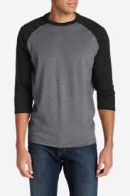 Men's Legend Wash 3/4-Sleeve Baseball T-Shirt