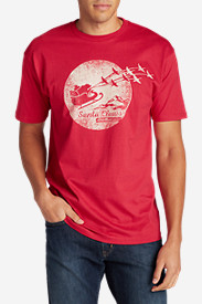 Comfortable Shirts for Men: Men's Graphic T-Shirt - Santa Claws