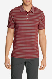 Men's Voyager 2.0 Short-Sleeve Polo Shirt - Classic Fit, Stripe