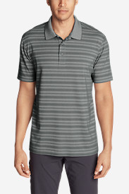 Men's Voyager 2.0 Short-Sleeve Polo Shirt - Stripe