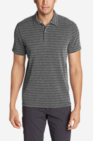 Men's Contour Short-Sleeve Polo Shirt - Stripe