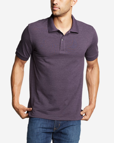 e2ed9246 Men's Classic Field Pro Short-sleeve Polo Shirt | Eddie Bauer