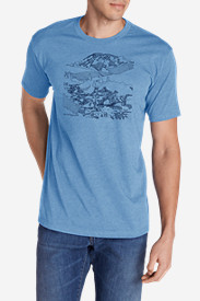 Men's Graphic T-Shirt - Mount Rainier