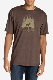 Men's Graphic T-Shirt - Woods Elk