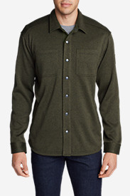 Men's Radiator Sweater Fleece Shirt Jacket