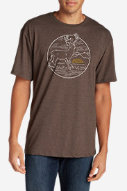 Men's Graphic T-Shirt - White Tail