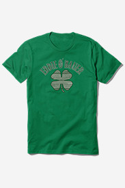 Men's Graphic T-Shirt - Eddie O' Bauer Clover