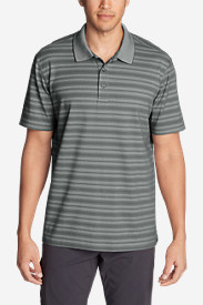 Men's Voyager 2.0 Short-Sleeve Polo Shirt - Relaxed Fit, Stripe