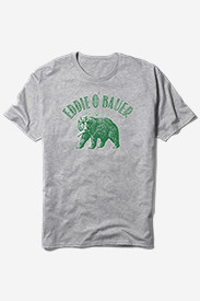 Men's Graphic T-Shirt - Eddie O' Bauer Bear