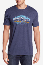 Men's Graphic T-Shirt - Alaskan Range