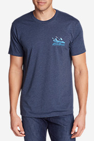Men's Graphic T-Shirt - Glacier Kayak