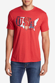 Men's Graphic T-Shirt - USA Boards