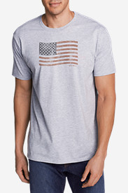 Men's Graphic T-Shirt - Classic Flag