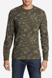 Men's Thermal Camo Crew - The Heroes Project Collection