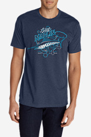 Men's Graphic T-Shirt - Marlin Reel