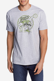 Men's Graphic T-Shirt - Bass Reel