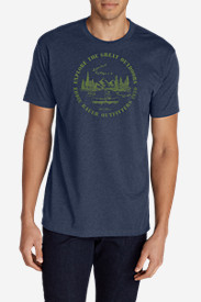 Men's Graphic T-Shirt - Canoe
