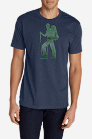 Men's Graphic T-Shirt - Double Hiker