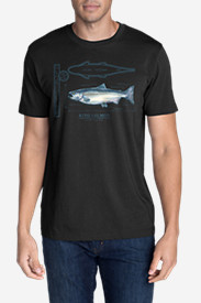 Men's Graphic T-Shirt - King Salmon