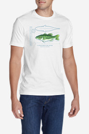 Men's Graphic T-Shirt - Largemouth Bass