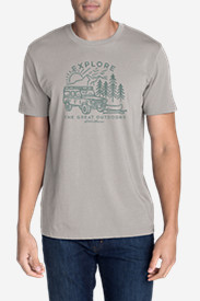 Men's Graphic T-Shirt - Explore Kayak