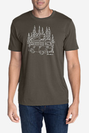 Men's Graphic T-Shirt - Wagon Camp