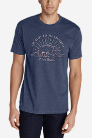 Men's Graphic T-Shirt - Great Pacific Northwest Bear