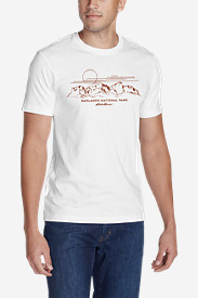Men's Graphic T-Shirt - Badlands National Park