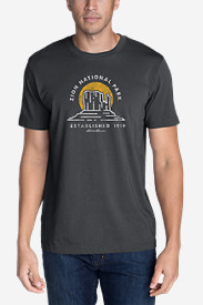Men's Graphic T-Shirt - Zion National Park