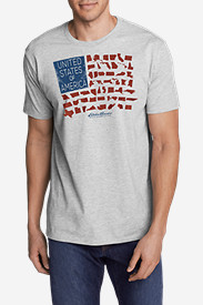 Men's Graphic T-Shirt - States Flag