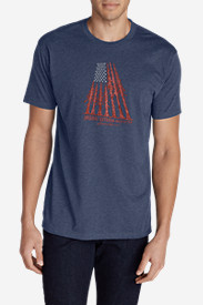 Men's Graphic T-Shirt - Forest Flag