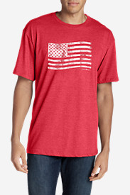 Men's Graphic T-Shirt - Classic Flag Stamp