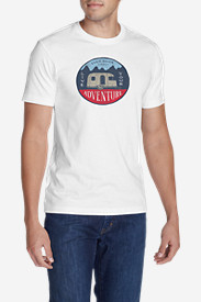 Men's Graphic T-Shirt - Live Your Adventure Camper