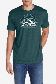 Men's Graphic T-Shirt - Mountain Sun