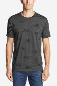 Men's Graphic T-Shirt - Forestscape