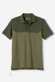 Men's Field Short-Sleeve Polo Shirt - Colorblock