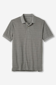 Men's Slub Piqué Polo Shirt - Stripe