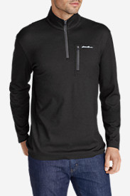 Big & Tall Shirts for Men: Men's Voyager II 1/4-Zip Pullover