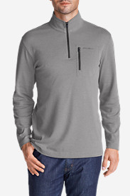 Travel Shirts for Men: Men's Voyager II 1/4-Zip Pullover