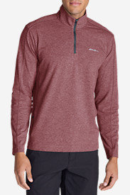 Long Sleeve Shirts for Men: Men's Lookout 1/4-Zip Mockneck