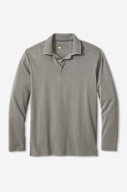 Men's Voyager II Performance Long-Sleeve Polo Shirt - Solid