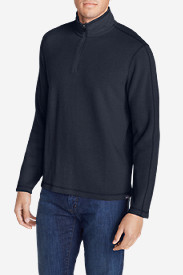 Big & Tall Shirts for Men: Men's Kachess 1/4-Zip Mock Shirt