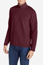 Red Jackets: Men's Kachess 1/4-Zip Mock Pullover