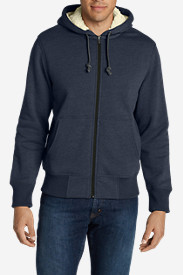 Workout Jackets for Men: Men's Cascade Falls Sherpa-Lined Hoodie