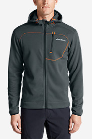 Blue Jackets: Men's Synthesis Pro Full-Zip Hoodie