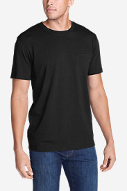 Black Shirts for Men: Men's Legend Wash Short-Sleeve Pocket T-Shirt - Classic Fit