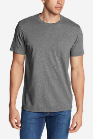 Casual T-Shirts for Men: Men's Legend Wash Short-Sleeve Pocket T-Shirt - Classic Fit