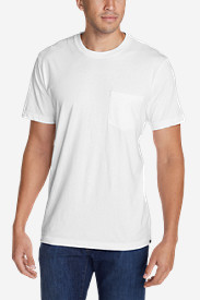 White Big & Tall Tshirts for Men: Men's Legend Wash Short-Sleeve Pocket T-Shirt - Classic Fit